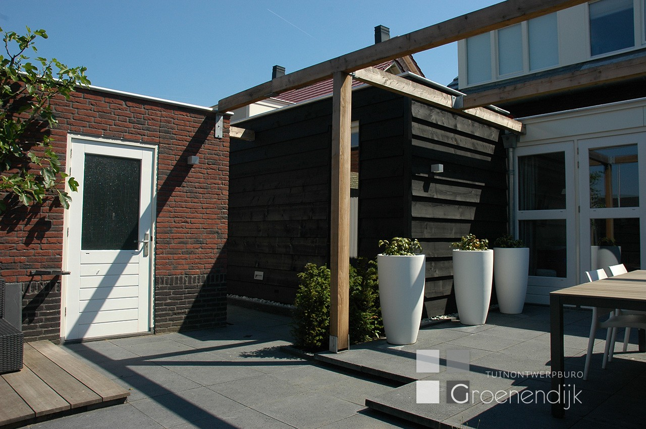 Moderne tuin in Culemborg