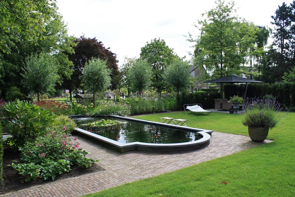 Grote tuin in Woerden