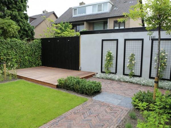 Jaren 30 tuin in breukelen tuinontwerpburo groenendijk for Mobiele woning in de tuin