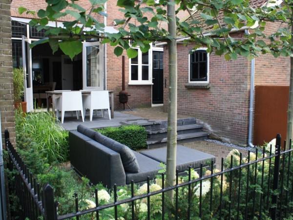 Jaren 30 tuin in woerden tuinontwerpburo groenendijk for Landelijke stadstuin