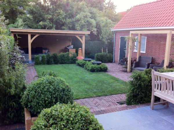Kleine tuin in Wassenaar