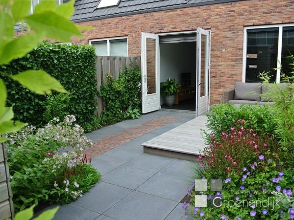 Ontwerp Kleine Tuin : Kleine tuin in vleuten tuinontwerpburo groenendijk