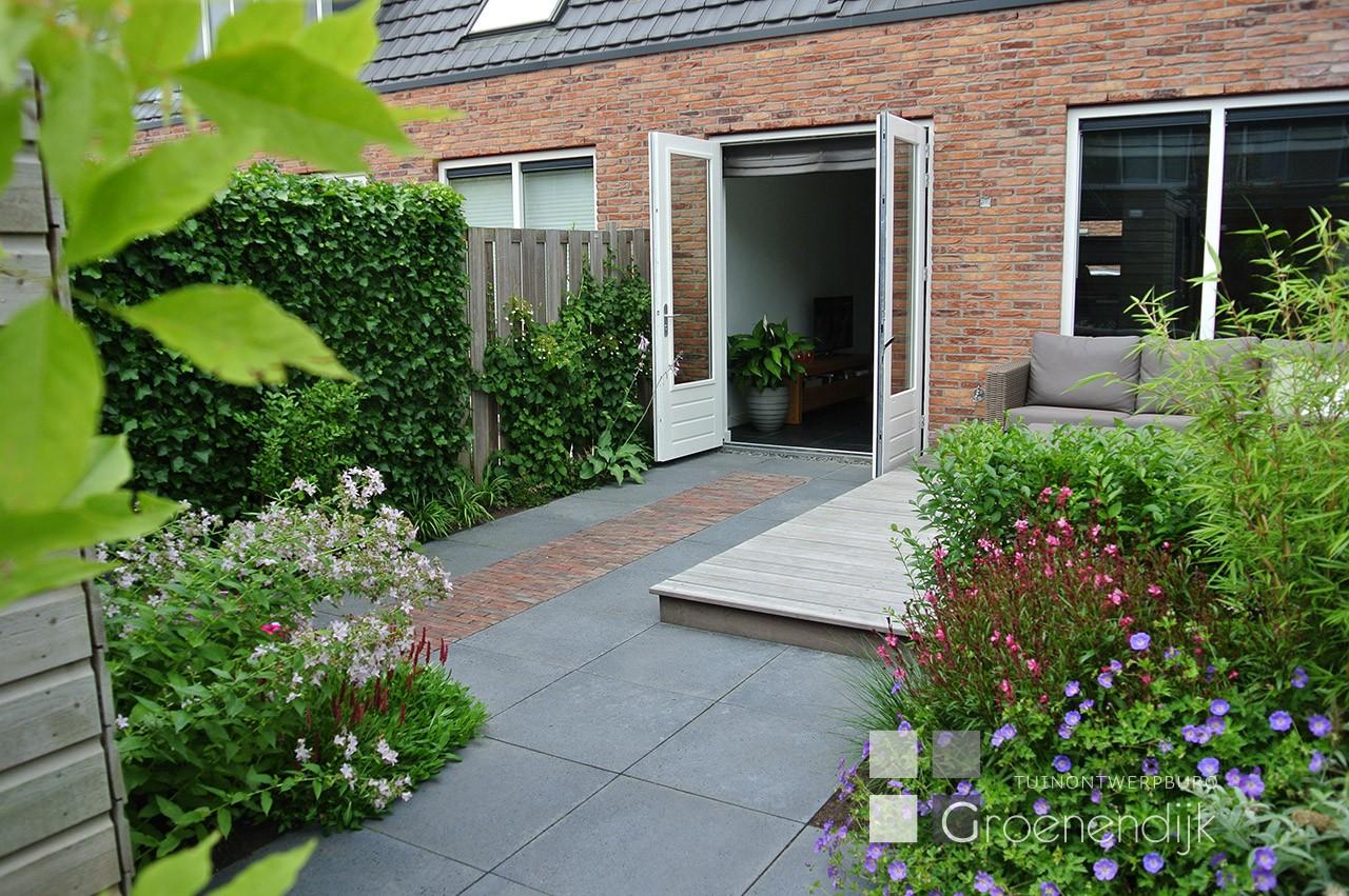 kleine tuin in vleuten tuinontwerpburo groenendijk