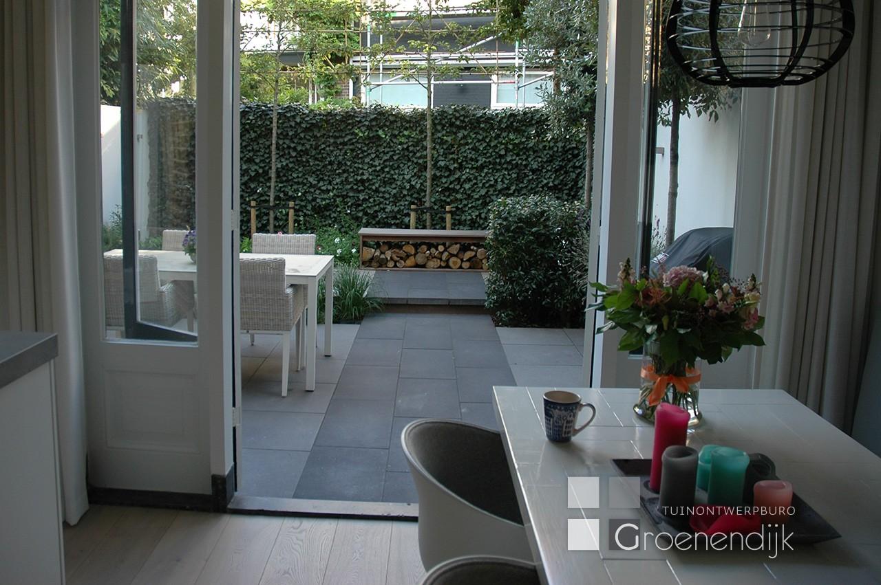 Kleine tuin in Haarlem