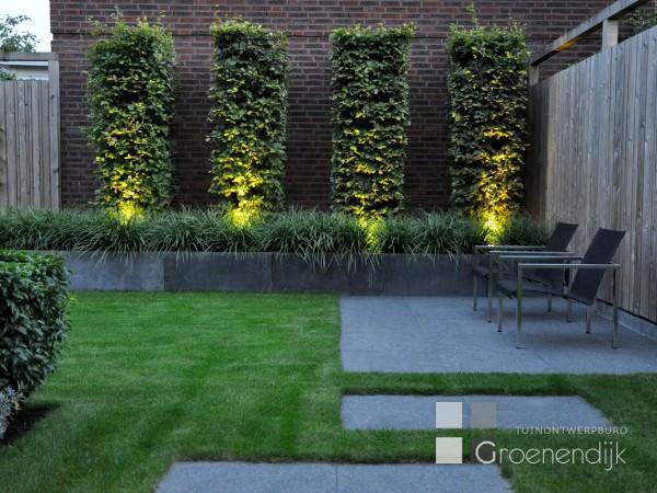 Grote Moderne Tuin : Moderne tuin in vleuten tuinontwerpburo groenendijk