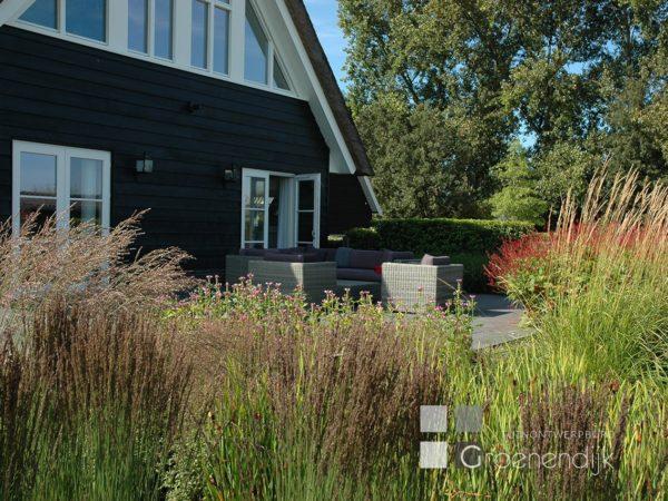 Natuurlijke tuin in Soest
