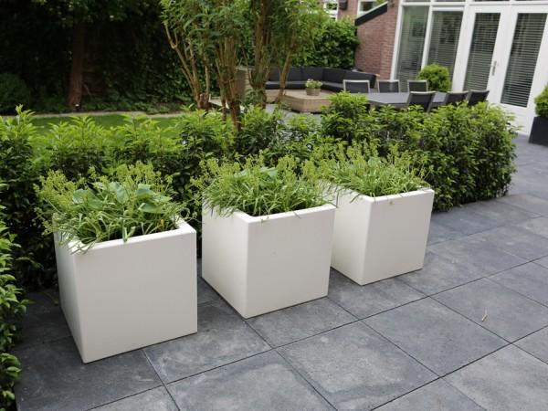 Zeer Moderne tuin in Amstelveen - Tuinontwerpburo Groenendijk &HZ73